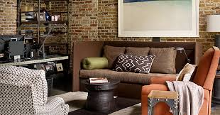 Furniture brick Paola Navone Country Living Magazine The Brick Wall Dilemma The New York Times