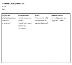 Personal Development Portfolio Template