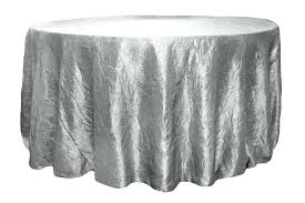 120 inch round tablecloth best crushed taffeta inch round tablecloth silver at linens concerning inch round 120 inch round tablecloth