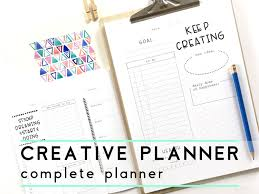 Design Your Own Planner Inserts Creative Planner Printable Creative Journal Inspirational
