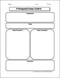 brainstorming form for the paragraph essay use this page to brainstorming outline form for the 4 paragraph essay