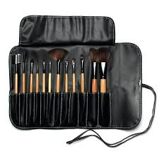 makeup brush bag professional face makeup brush set with black leather bag make up brushes set in eye shadow applicator from beauty health on review makeup