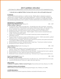 8 Medical Assistant Resume Skills Assistant Cover Letter