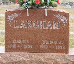 Isabell Sunday Langham (1912-1997) - Find A Grave Memorial