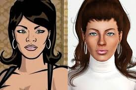 Mod The Sims - Lana Kane (Archer TV Series) UPDATED