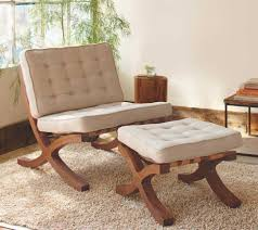 Small Upholstered Chairs For Bedroom Furniture White Tufted Upholstered Chair And Bench Using Brown