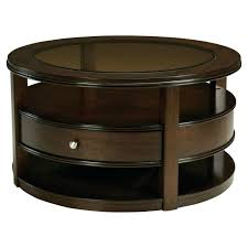 coffee table and chairs ottomans round brown leather ottoman coffee table drawers rustic and industrial styling