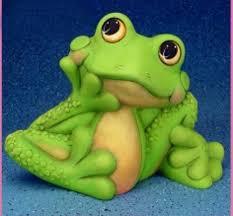 garden frog statue. Frog Garden Statue Large Unfinished Ceramic Bisque Happy Zen .