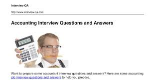 Accounting Interview Questions Accountinginterviewquestionsandanswerspdf DocDroid 24