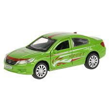 <b>Машина</b> металлическая <b>Honda Accord</b> Спорт, 12 см ...
