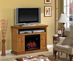 cannes antique oak entertainment center electric fireplace