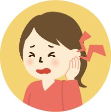 「耳 押さえる イラスト」の画像検索結果