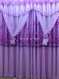 Purple Curtains For Bedroom Valance Curtains For Bedroom