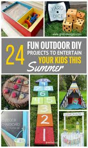 Fun Diy Projects 24 Fun Outdoor Diy Projects That Will Keep Your Kids Entertained