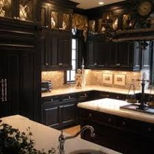 kitchens with black cabinets. Kitchen Cabinets Black Brilliant Kitchens With