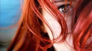 Tapety Tvář ženy Ryšavý Model Hloubka Pole Dlouhé Vlasy