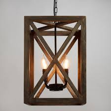 lighting wood. Wood \u0026 Iron Valencia Chandelier Lighting A
