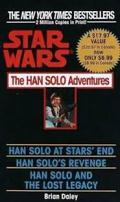 Del Rey <b>Star Wars</b> Han <b>Solo</b> Adventures, The (1992 <b>Printing</b>) SC EX ...