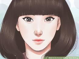 image led make your face like korean s step 20