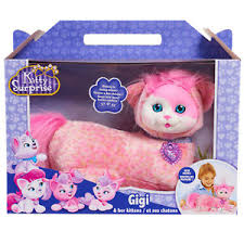 Image is loading Pink-CAT-Kitty-Plush-Toy-For-Girls-Kids- Pink CAT Kitty Plush Toy For Girls Kids Age 3 + Kitties Surprise Fun