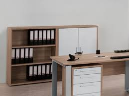 white office cabinet with doors. Harmony Sonoma Oak \u0026 Matt White Finish Small Office Storage Cabinet By Maja With Doors M