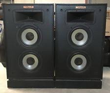 vintage klipsch bookshelf speakers. set of 2 vintage klipsch kg4 speakers in working condition klipsch bookshelf