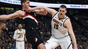The portland trail blazers take on the denver nuggets in the last game of the regular season at moda center tonight. Nba Playoffs Scores Result Denver Nuggets Vs Trail Blazers Nikola Jokic