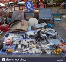 Bangkok, Thailand - February 9, 2019: Volkswagen Type 3 owner sell VW used spare  parts at volkswagen club meeting in Siam VW festival Stock Photo - Alamy