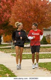 Image result for jogging in neighborhood