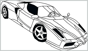Coloring Pages Ferrari Coloring Pages Laferrari Ferrari Coloring
