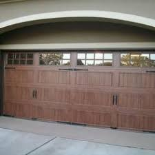 faux wood garage doors. Clopay Gallery Collection Steel Garage Doors With Ultra-Grain Faux Wood  Finish. Installed By