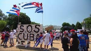 Washington DC Cuba protest call on Joe ...