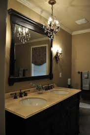 home and interior vanity small bathroom chandelier of the interesting mini for intended from appealing
