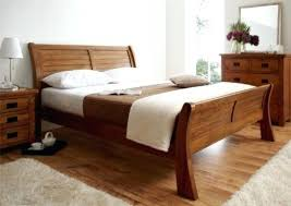 Wood Sleigh Bed King Full Size Of Wood Sleigh Bed Slay Bed King ...