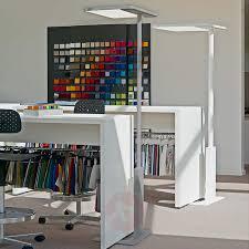 floor lamp office. Office Floor Lamp Linea-F With Sensor, Grey-6040192-02