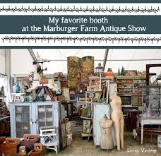 my favorite booth at marburger farm antique show