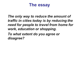essay writing strategies ppt video online  the essay