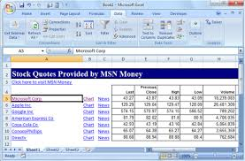 Stock Quotes Cool How To Get Stock Quotes In Excel