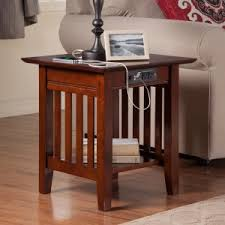 charging end table. Atlantic Furniture Houlton End Table With Charging Station N