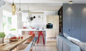Industrial Home Design Plans A Duplex Penthouse Designed With Scandinavian Aesthetics