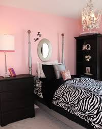 Pink & Black Girls Rooms
