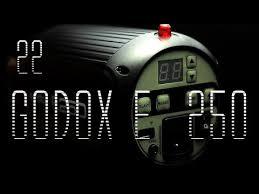 FLASH <b>GODOX</b> E 250   [Review]  EN ESPAÑOL - YouTube