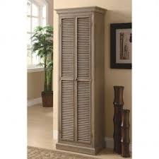 tall wood storage cabinet. Accent Cabinets Tall Storage Cabinet With Shutter Door Fronts Wood W