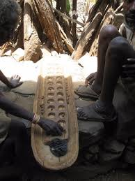 Game With Stones And Wooden Board game with wooden board and stones Picture of Konso Cultural 86