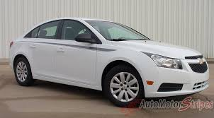 2011-2016 Chevy Cruze Stripe Stride Body Line Door Taper Vinyl ...