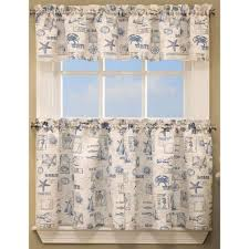 by the sea kitchen tier curtains by lorraine