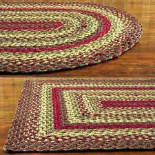 primitive country area rugs red oval braided rug large rectangular blue and green decor r
