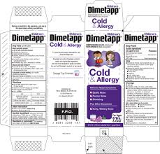 Childrens Dimetapp Cold And Allergy Liquid Richmond