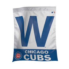 chicago cubs w banner