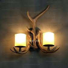 rustic wall candle sconce rustic wall sconces antler country style 2 light restaurant wall sconces lighting rustic wall candle